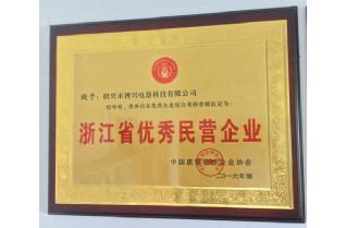 浙江省优秀民营企业